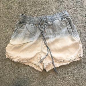 Ombré Cotton Shorts
